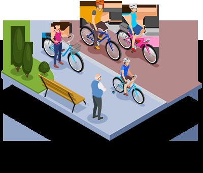 Bikeways ISOMETRIC1
